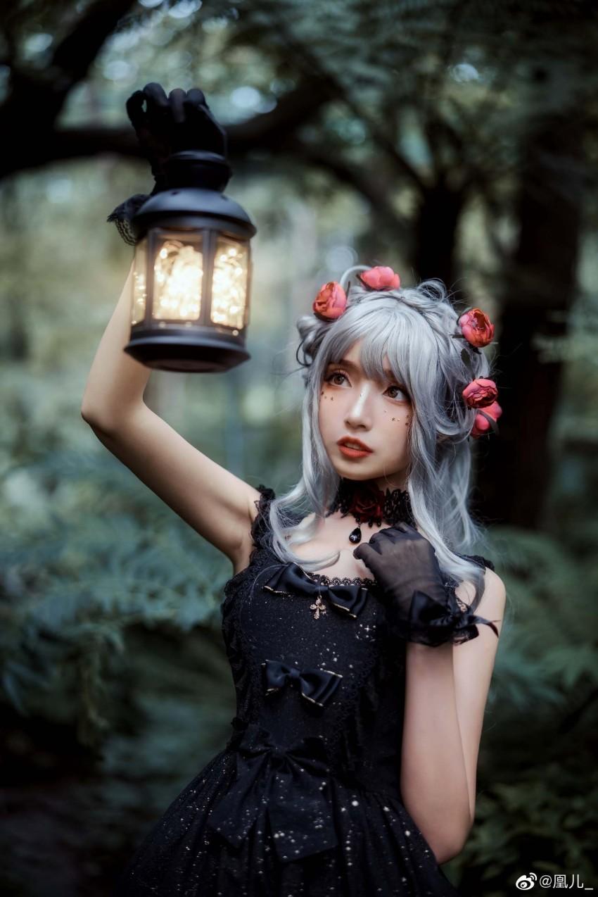 「凰儿_」森林 迷失 光亮 #Lolita