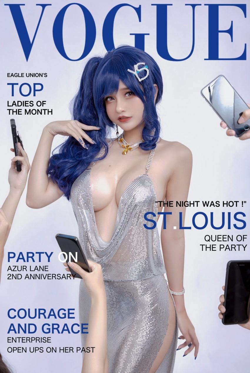 【Azami】 St. Louis [17P 211MB]