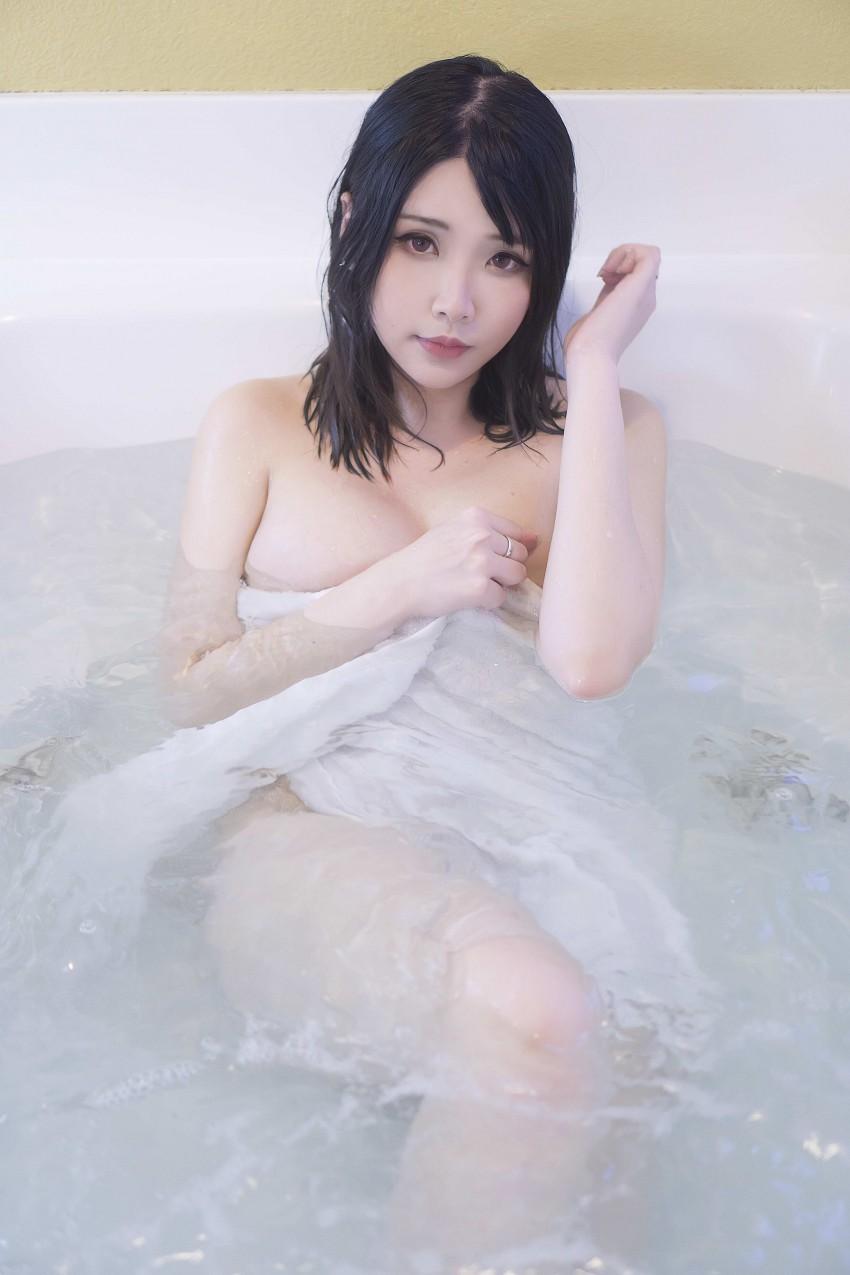 「Hana Bunny」水原千鹤/阿狸/浴缸  - 5 #coser