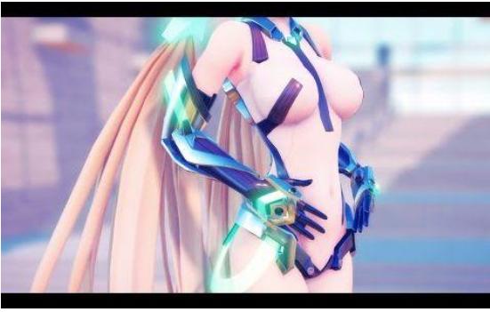 【MMD】 Soleil (アンジェラ・バルザック) 1080p60fps [Full HD,1920x1080p]