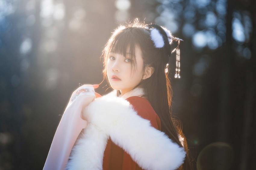 「桜桃喵 」熹微 #汉服