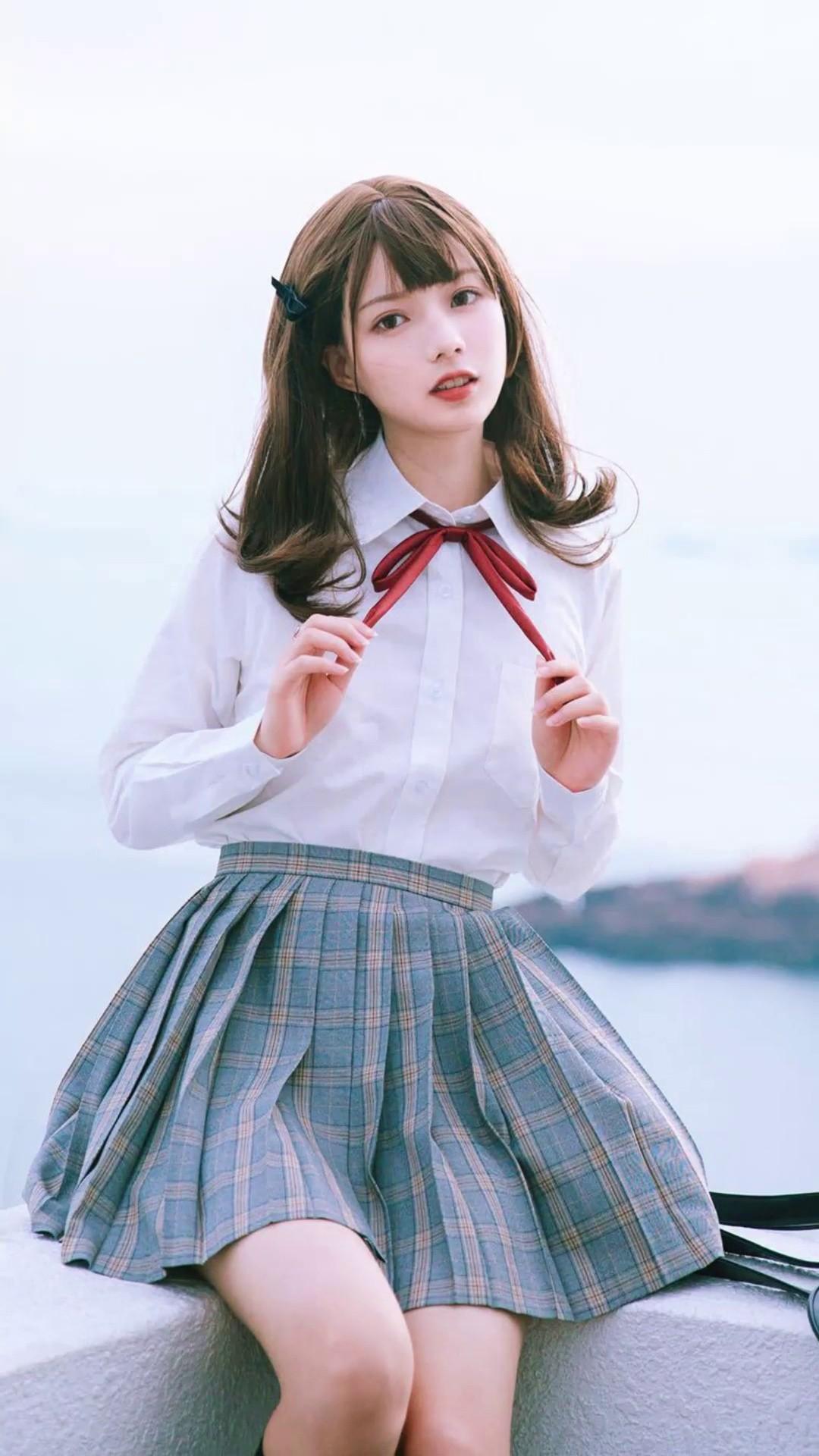 【JK制服】不止清纯和可爱,还有暗黑和帅气的学姐学妹们