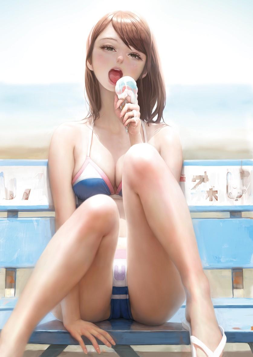 pixiv特辑 泳装合集17