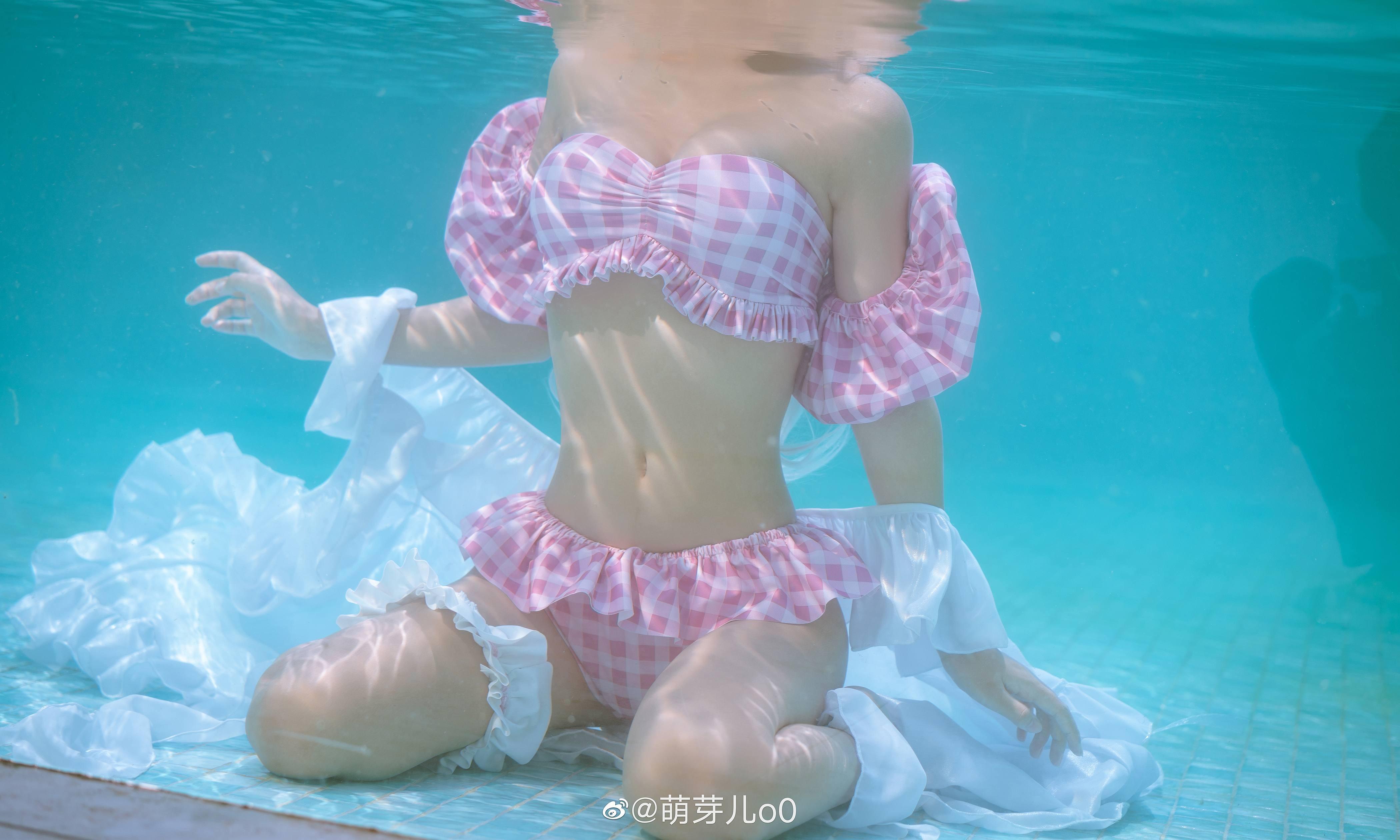 【预览】【萌芽儿o0】艾雅法拉 泳装 cos