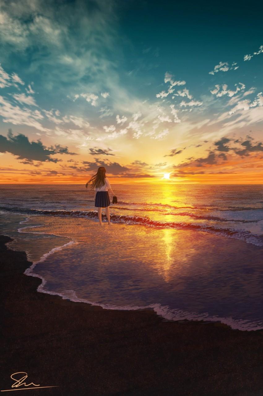 美图分享:落日余晖