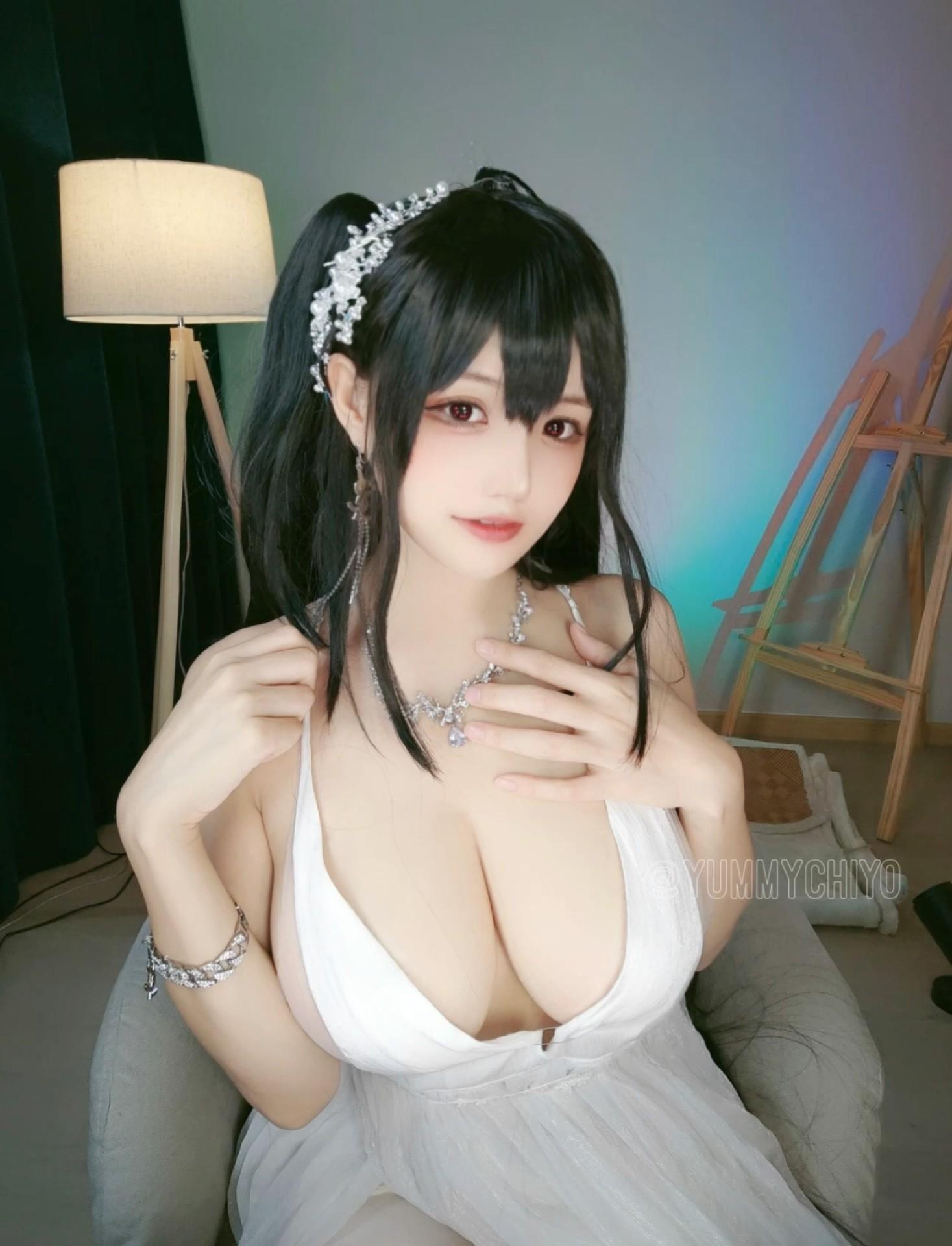 【预览】【小仓千代w】大凤婚纱 cosplay